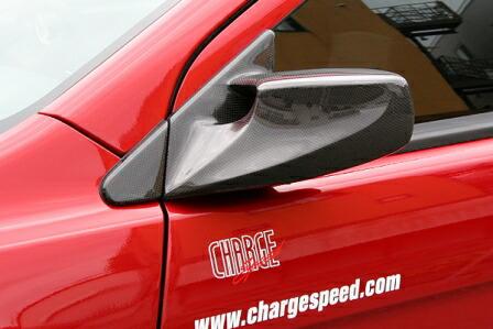 チャージスピード ランエボ ランサー CZ4A エボリューションX エアロミラー FRP CHARGESPEED 撃速CHARGE SPEED 撃速チャージスピード