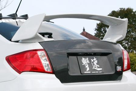 チャージスピード インプレッサ WRX GVB/GVF C/D型 STI トランク カーボン CHARGESPEED 撃速CHARGE SPEED 撃速チャージスピード