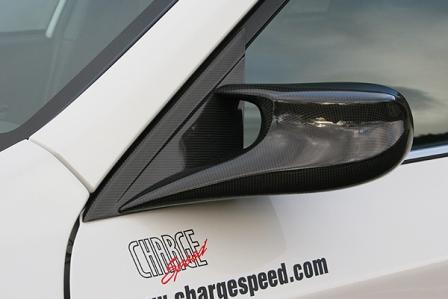 チャージスピード インプレッサ WRX GVB/GVF C/D型 STI エアロミラー タイプ2 カーボン CHARGESPEED BottomLine ボトムライン