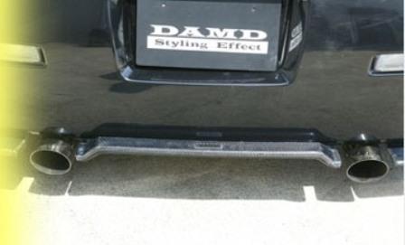 DAMD ダムド センシティビティエキゾーストエクイップメント フェアレディZ Z33 スタイリングエフェクト オールステンレス