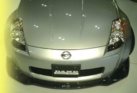 DAMD ダムド フロントスポイラー フェアレディZ Z33 スタイリングエフェクト カーボン
