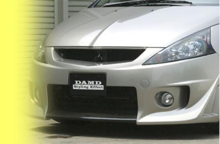 DAMD ダムド 3ピースキット グランディス NA4W スタイリングエフェクト カーボン