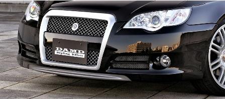 DAMD ダムド グリルインサート レガシィ ツーリングワゴン BP5 A~C型 スタイリングエフェクト ABS樹脂