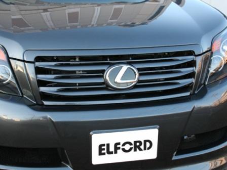 エルフォード ランドクルーザー プラド ランクルプラド 150系 フロントグリル Elford 明和