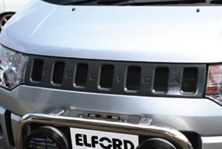 エルフォード デリカD5 エアロマスク フロントカメラ無し車用 Elford 明和
