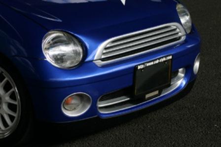 ESB イーエスビー SPUNKY TYPE-MINI EVO スパンキー タイプミニ エボ フロントバンパー 未塗装 トゥデイ JA4 前期/後期