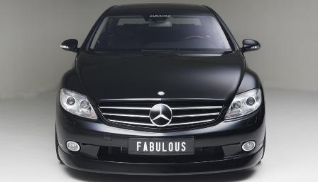 ファブレス メルセデス・ベンツ C216 CLクラス フロントバンパースポイラー FABULOUS