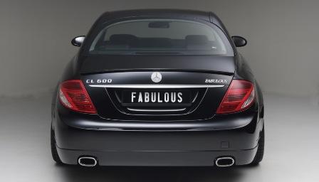 ファブレス メルセデス・ベンツ C216 CLクラス リアバンパースポイラー FABULOUS