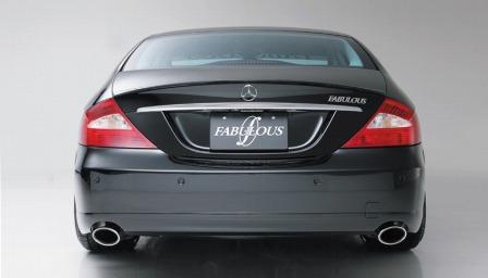 ファブレス メルセデス・ベンツ W219 CLSクラス リアバンパースポイラー FABULOUS