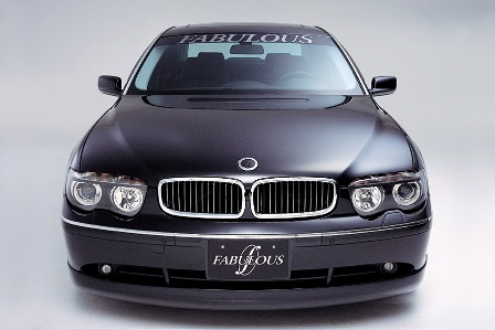 ファブレス BMW E65 760 フロントハーフスポイラー FABULOUS
