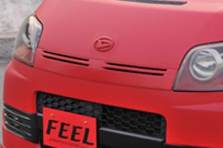 FEEL フィール CE STYLE フロントグリル 未塗装 ムーヴ L175S