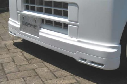 FINALKonnexion ファイナルコネクション エブリィ DA64V フロントハーフスポイラー K-01シリーズ K-01Series