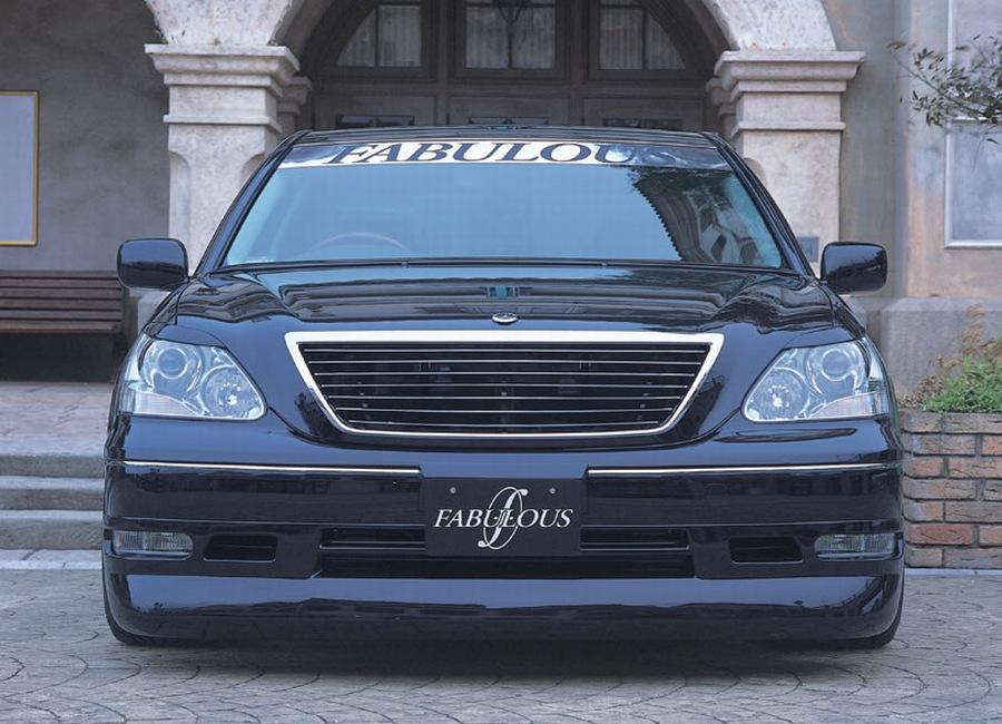 ファブレス セルシオ 30系 フロントハーフスポイラー FABULOUS