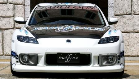 ファブレス RX-8 SE3P フロントバンパースポイラー FABULOUS