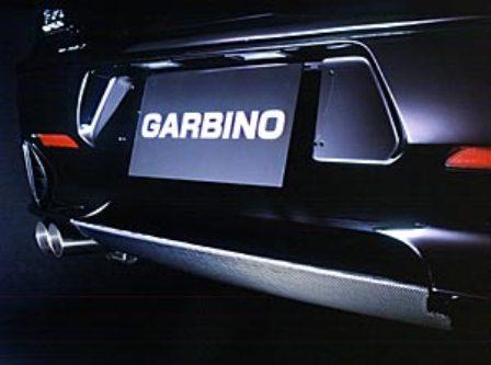 ガルビノ アルファロメオ アルファ156 GTA リアデュフューザー カーボン製 GARBINO