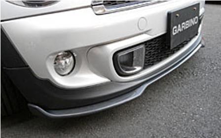 ガルビノ ミニ R56 R57 クーパーS 後期 フロントリップスポイラー カーボン製 GARBINO