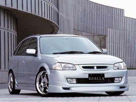 ジアラ ファミリアS-ワゴン BJ5W フロントグリル GIALLA スポルティボ 配送先条件有り