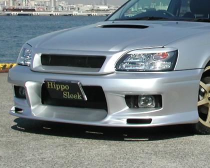 ヒッポスリーク レガシィ レガシー BH5 D型 フロントバンパー D-Type HippoSleek LEGACY AERO レガシーエアロシリーズ
