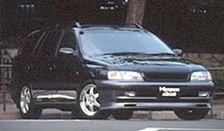 ヒッポスリーク カルディナ 前期 フロントスポイラー HippoSleek STYLISH WAGON スタイリッシュ ワゴン