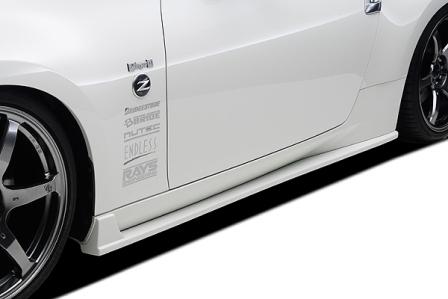 ings イングス フェアレディZ Z34 サイドステップ FRP N-SPEC エヌスペック