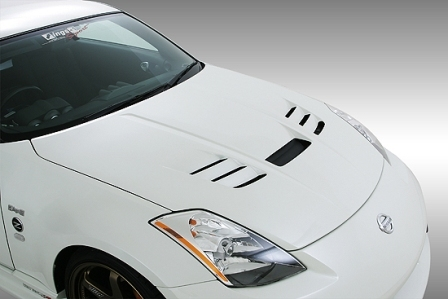 ings イングス フェアレディZ Z33 タイプ E ボンネット FRP タイプ2 N-SPEC エヌスペック 個人宅発送追金有