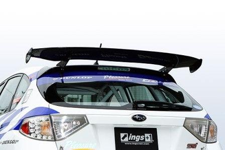 ings イングス インプレッサ GRB WRX STI Zパワーウィング ウイング ウェットカーボン インプレッサWRX-STI(GRB※)専用モデル 1,400mm N-SPEC エヌスペック 個人宅発送追金有
