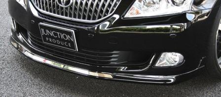 JUNCTIONPRODUCE ジャンクションプロデュース フロントタイトリップスポイラーVS 未塗装 クラウンマジェスタ 200系