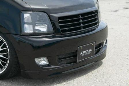 K BREAK ケイブレイク ワゴンR MC フロントバンパー Vラグ ディション V-LUX EDITION