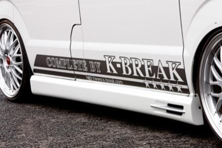 K BREAK ケイブレイク エブリィ エブリー エブリイ ワゴン DA64W 後期 PZターボ サイドステップ アスリート Athlete