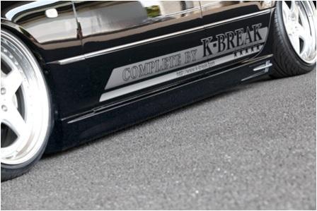 K BREAK ケイブレイク セルシオ 30系 前期 サイドステップ タイプV コンプリートプラチナム COMPLETE PLATINUM