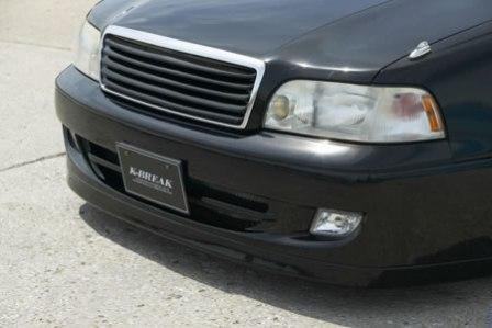 K BREAK ケイブレイク クラウン マジェスタ 14系 フロントバンパー Vラグ ディション V-LUX EDITION