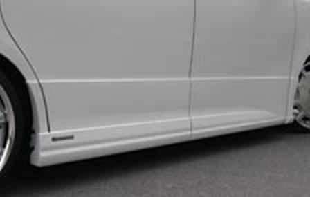 ケンスタイル ノア ZRR70W 前期 サイドスカート 未塗装 KENSTYLE