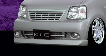 KLC ワゴンR MC11S 12S 21S 22S 前期 中期 後期 フロントバンパースポイラー KOMPRESSOR コンプレッサー ケイエルシー 個人宅発送不可