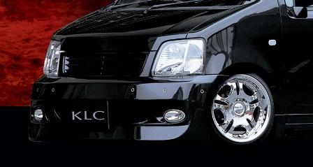 KLC ワゴンR MC21S 22S 後期 フロントバンパースポイラー 03MODEL 03モデル ケイエルシー 個人宅発送不可
