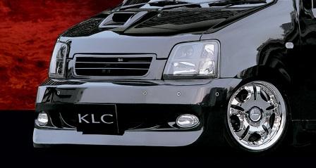 KLC ワゴンR MC11S 12S 前期 フロントバンパースポイラー 03MODEL 03モデル ケイエルシー 個人宅発送不可