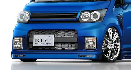 KLC ムーヴカスタム L175 185 後期 LXスタイリングフェンダー PerformanceEdition パフォーマンスエディション ケイエルシー 個人宅発送不可