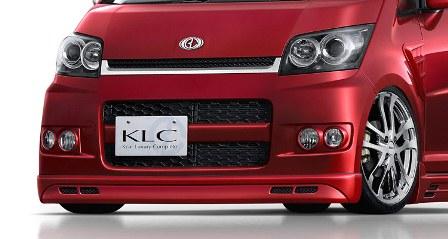 KLC ムーヴカスタム L175 185 前期 3点キット PerformanceEdition パフォーマンスエディション ケイエルシー 個人宅発送不可