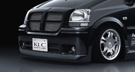 KLC ムーヴ L150 152 160 162 後期 フロントバンパースポイラー CONCEPTMODEL コンセプトモデル ケイエルシー 個人宅発送不可