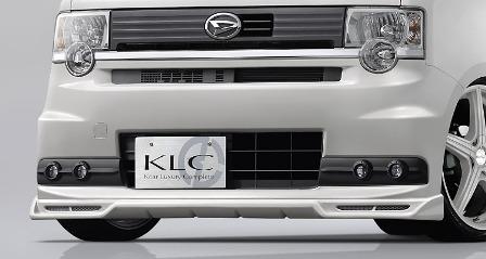 KLC ムーヴコンテ L575S 585S カスタムX/カスタムRS LXフォグランプカバー INSOLITE アンソリット ケイエルシー