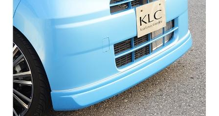 KLC タント L375S 385S 前期 後期 フロントハーフスポイラー スタンダードモデル Confiture コンフィチュール ケイエルシー 個人宅発送不可