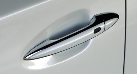 LXモード レクサス LS460 中期 カラードドアハンドルカバー 塗装済 LX-MODE 配送先条件有り