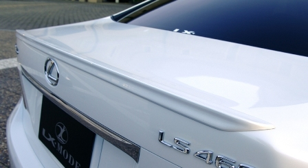 LXモード レクサス LS600hL 600h 460  トランクスポイラー 未塗装 LX-MODE 配送先条件有り