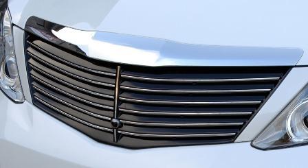 LXモード アルファード 350G-L/350G/240G/X系 前期 カラードマークレスフロントグリル 塗装済 LX-MODE 配送先条件有り