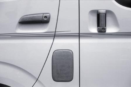 mac マック STERLING BLICK スターリングブリック アウターハンドルカバー フロント リヤ左右セット 塗装済 ハイエース 200系