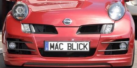 mac マック マーチ K12系 フロントバンパースポイラー FRP ブリックインパクト BLICK IMPACT