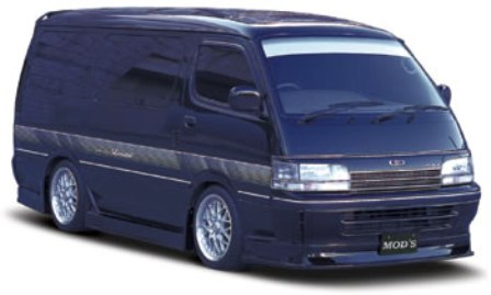 MOD'S モッズ ハイエース 100系 前期 ワゴン フロントアンダースポイラー UNDER SERIES アンダーシリーズVer.1