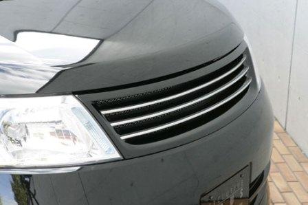 エムズスピード セレナ C25 前期 フロントグリル 未塗装 3151-4232 グレースライン ゼウス