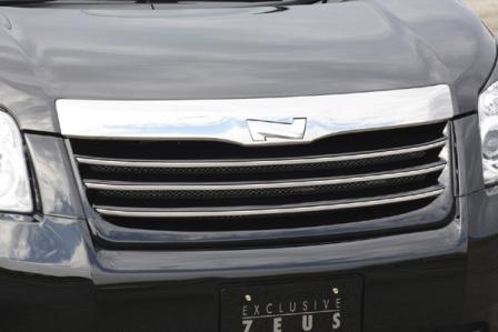 エムズスピード ノア ZRR70系 前期 フロントグリル 塗装済 3172-4112 グレースライン ゼウス