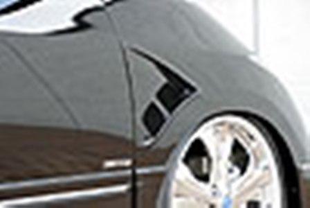 エムズスピード エスティマ ACR GSR 50系 フェンダーダクト 未塗装 4063-7141 エグゼライン ゼウス