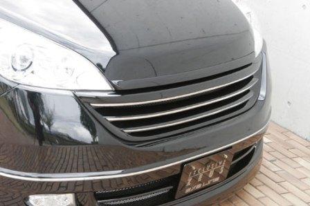 エムズスピード ステップワゴンスパーダ RG1 RG2 前期 フロントグリル 塗装済 3121-4111 エグゼライン ゼウス